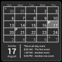 Календарь (Calendar Widget)