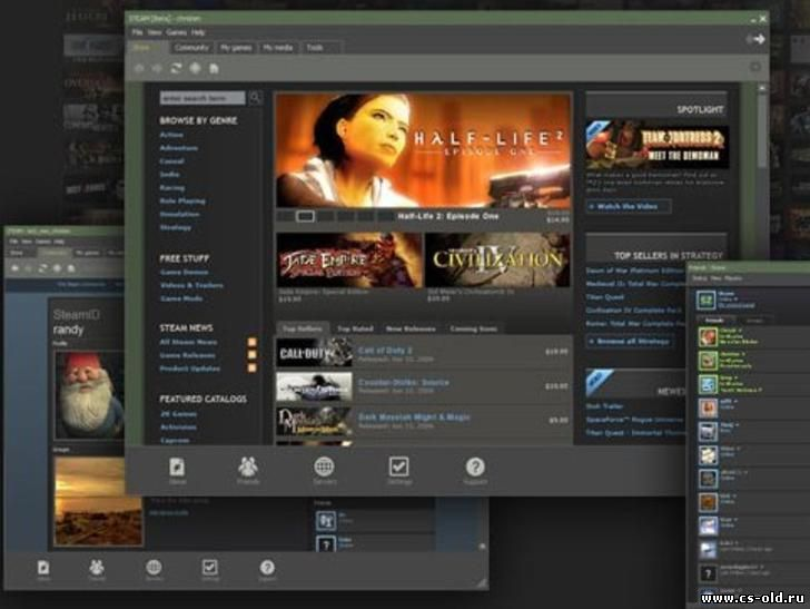 Steam cs 1.6